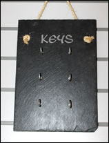 Natural Slate Key Holders